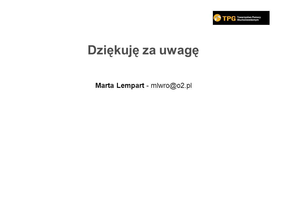 Marta Lempart - mlwro@o2.pl