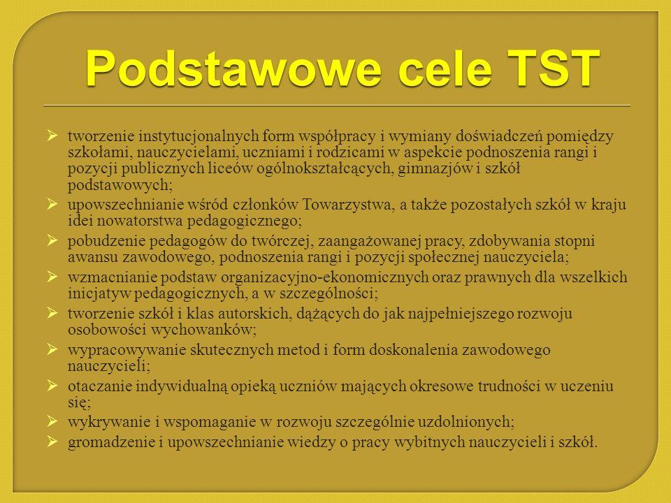 Podstawowe cele TST