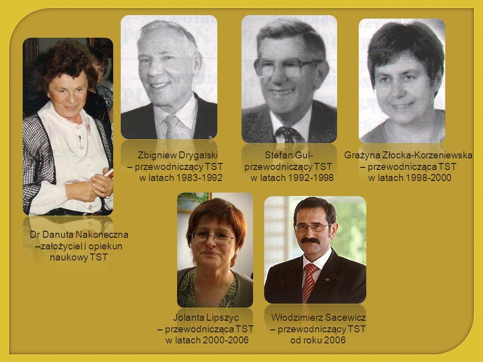 Grażyna Złocka-Korzeniewska – przewodnicząca TST w latach 1998-2000