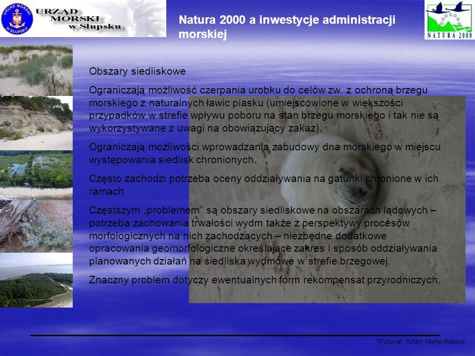 Natura 2000 a inwestycje administracji morskiej
