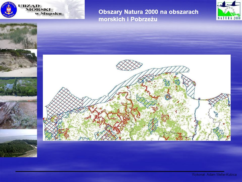 Obszary Natura 2000 na obszarach morskich i Pobrzeżu