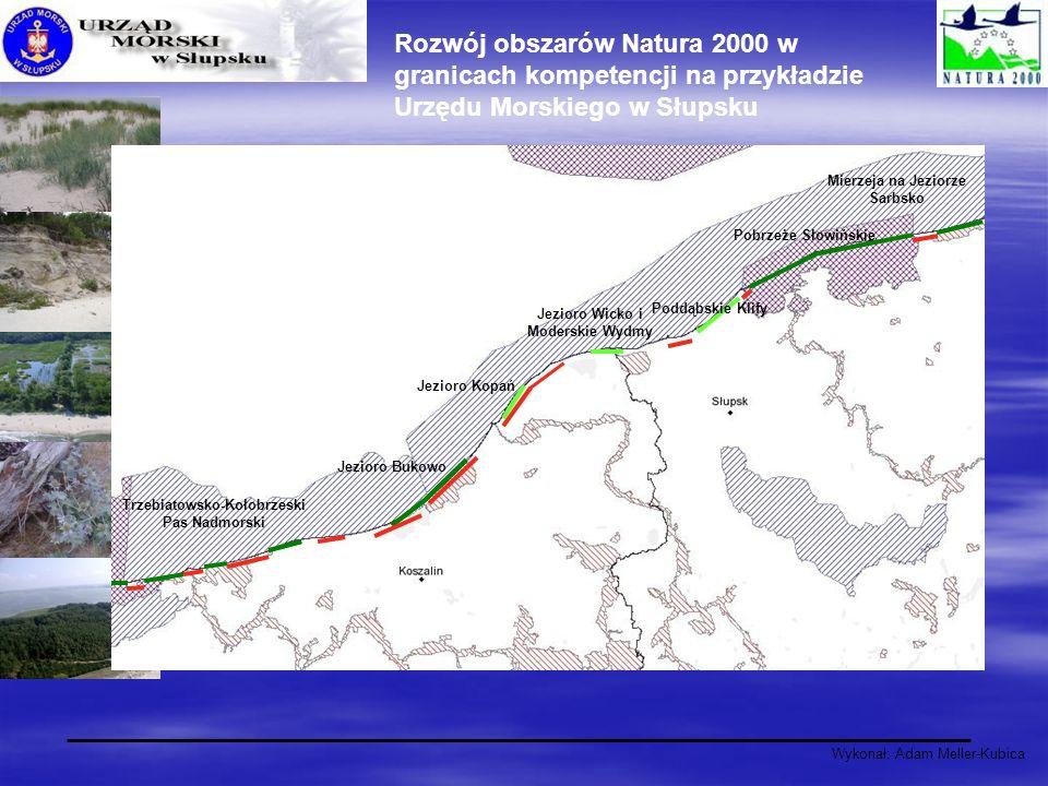 Rozwój obszarów Natura 2000 w granicach kompetencji na przykładzie Urzędu Morskiego w Słupsku