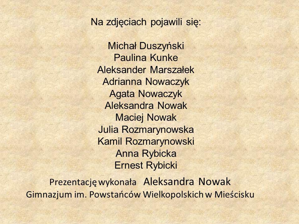 Na zdjęciach pojawili się: Michał Duszyński Paulina Kunke