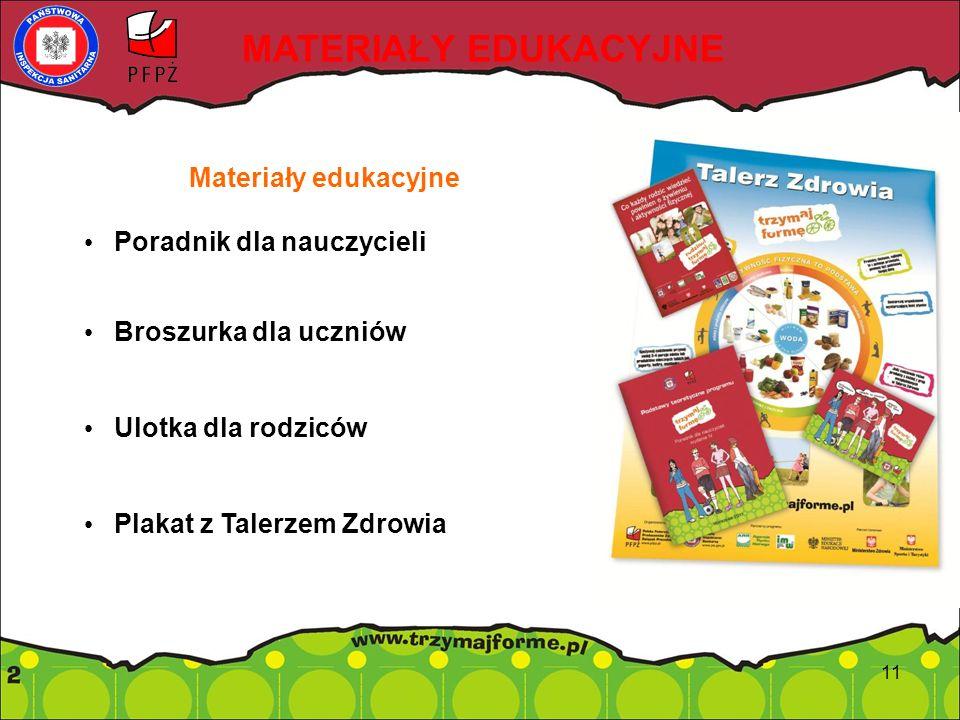 MATERIAŁY EDUKACYJNE Materiały edukacyjne Poradnik dla nauczycieli