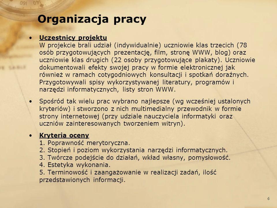 Organizacja pracy