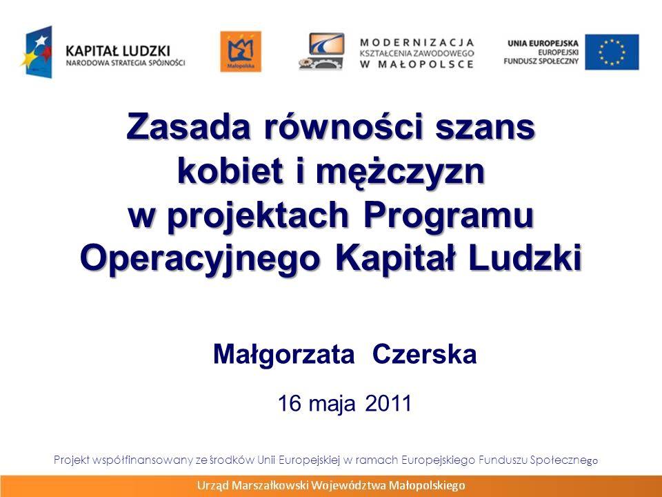 Małgorzata Czerska 16 maja 2011