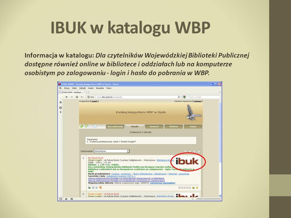 IBUK w katalogu WBP