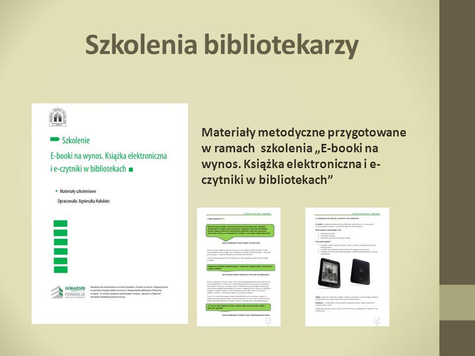 Szkolenia bibliotekarzy