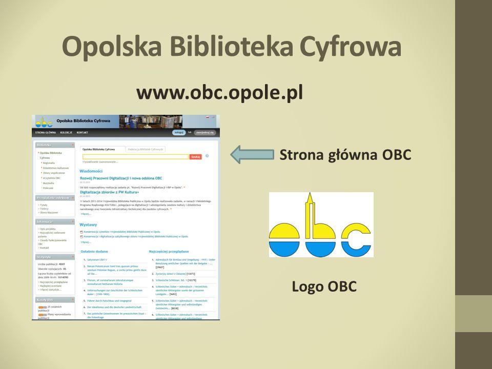 Opolska Biblioteka Cyfrowa