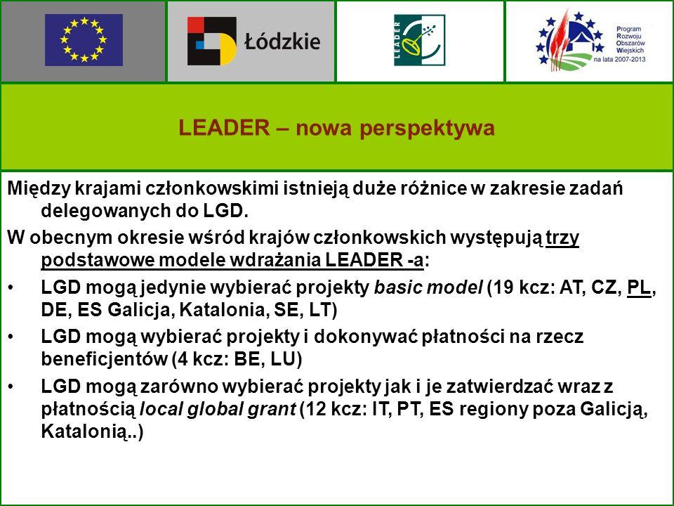 LEADER – nowa perspektywa