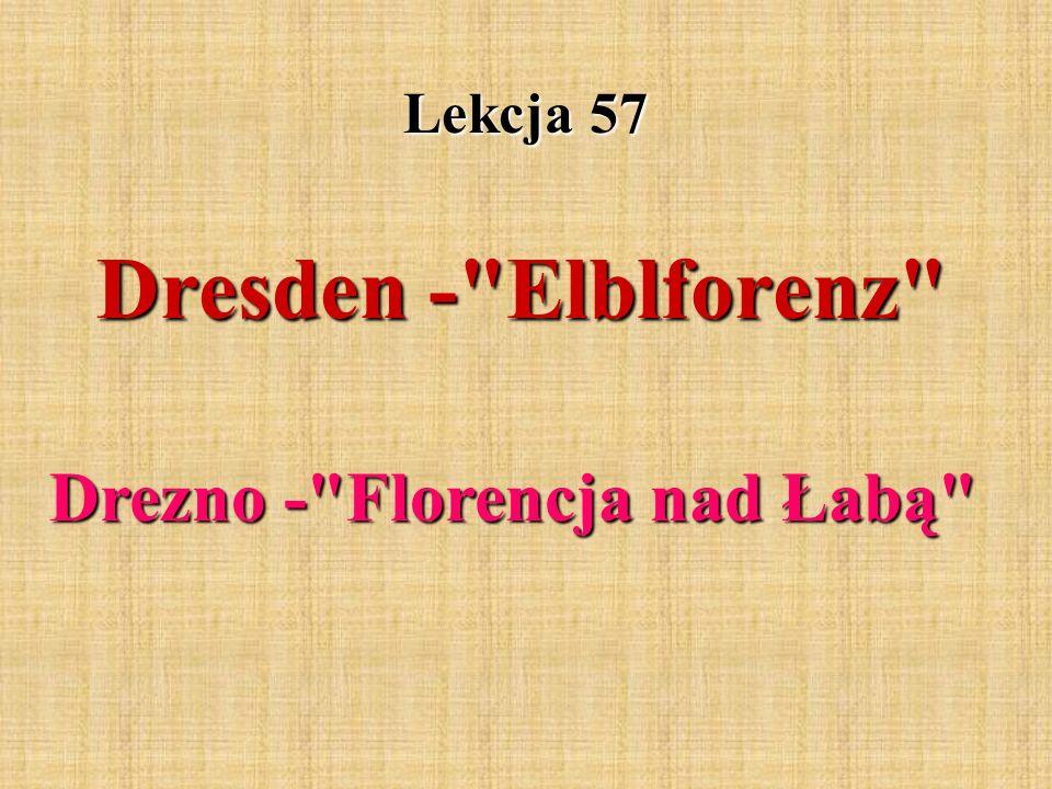 Drezno - Florencja nad Łabą
