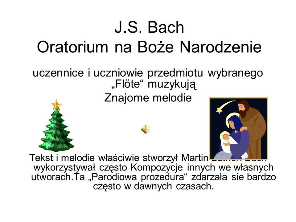 J.S. Bach Oratorium na Boże Narodzenie