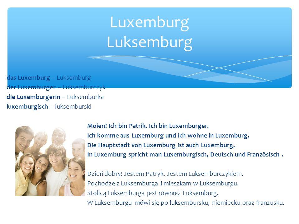 Luxemburg Luksemburg das Luxemburg – Luksemburg