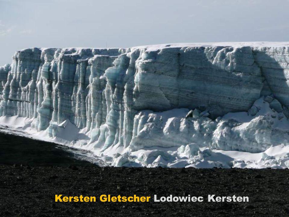 Kersten Gletscher Lodowiec Kersten