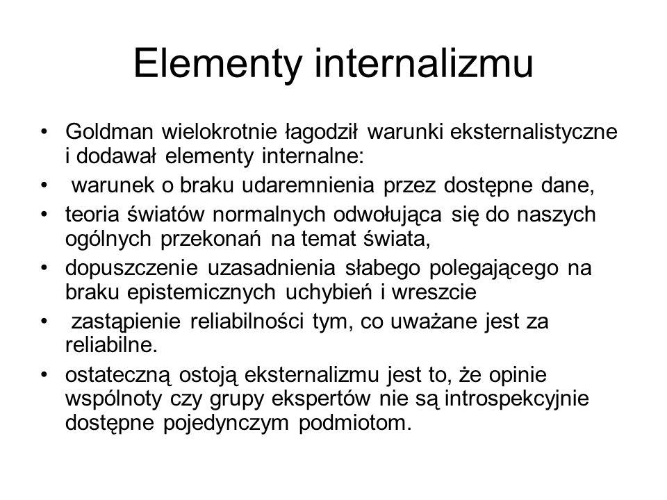 Elementy internalizmu