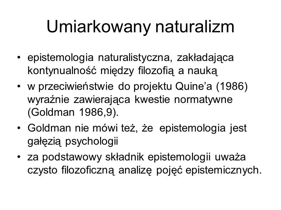 Umiarkowany naturalizm