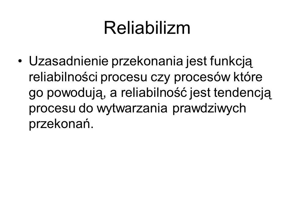 Reliabilizm