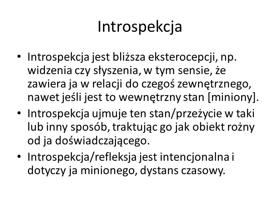 Introspekcja