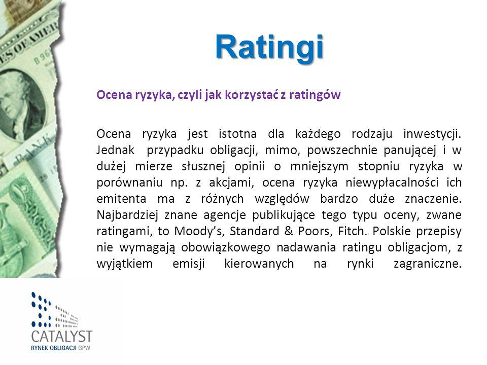 Ratingi Ocena ryzyka, czyli jak korzystać z ratingów