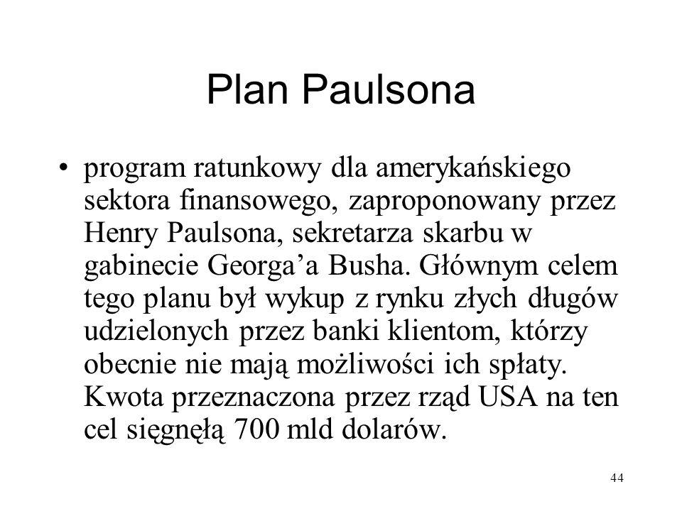 Plan Paulsona