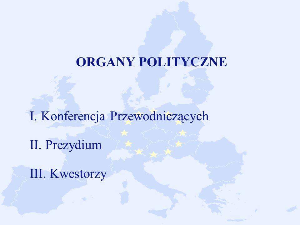 ORGANY POLITYCZNE I. Konferencja Przewodniczących II. Prezydium III
