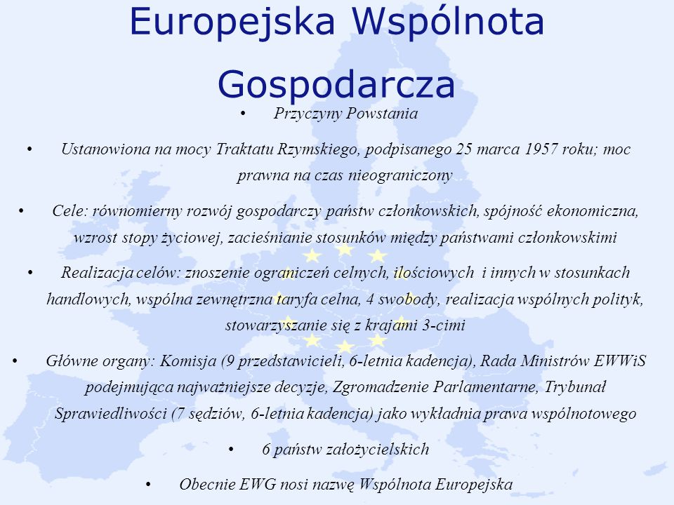 Europejska Wspólnota Gospodarcza