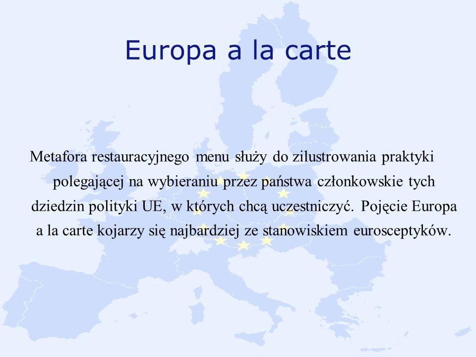 Europa a la carte