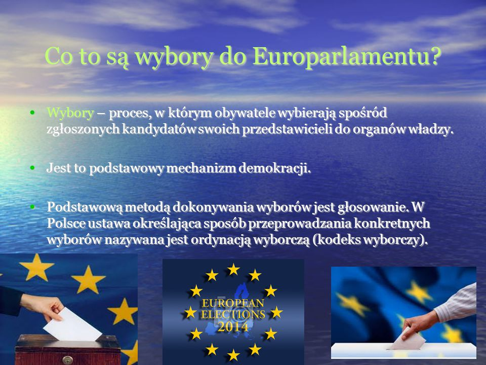 Co to są wybory do Europarlamentu