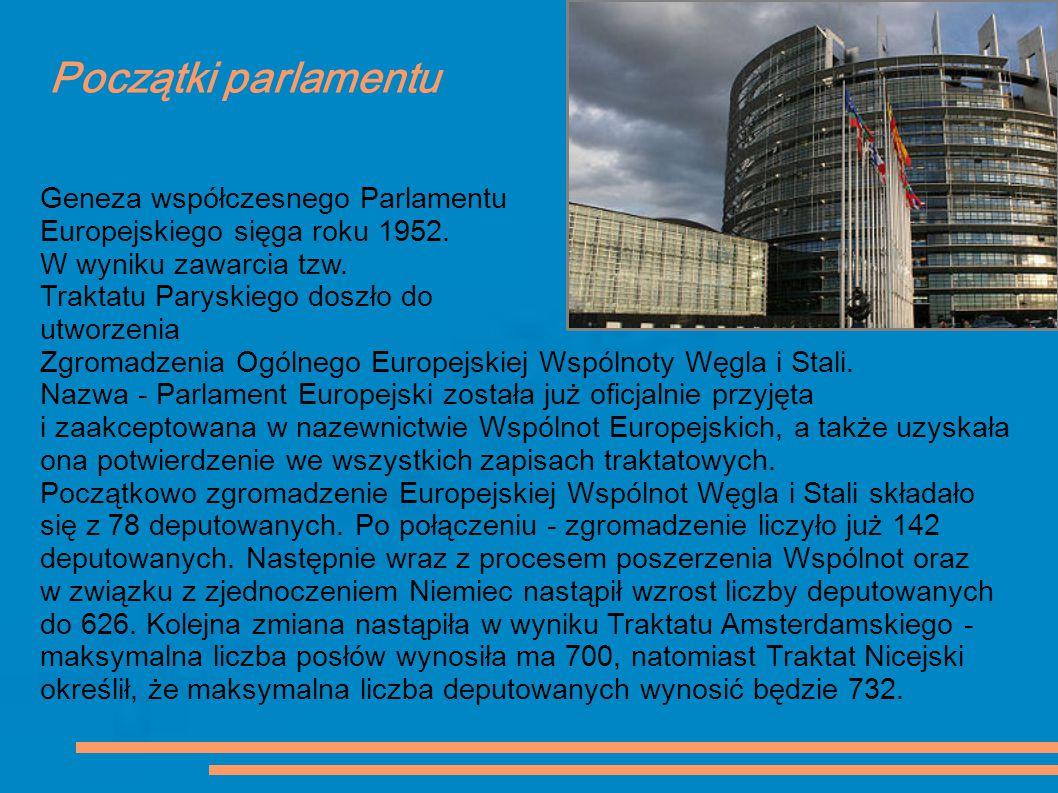 Początki parlamentu Geneza współczesnego Parlamentu