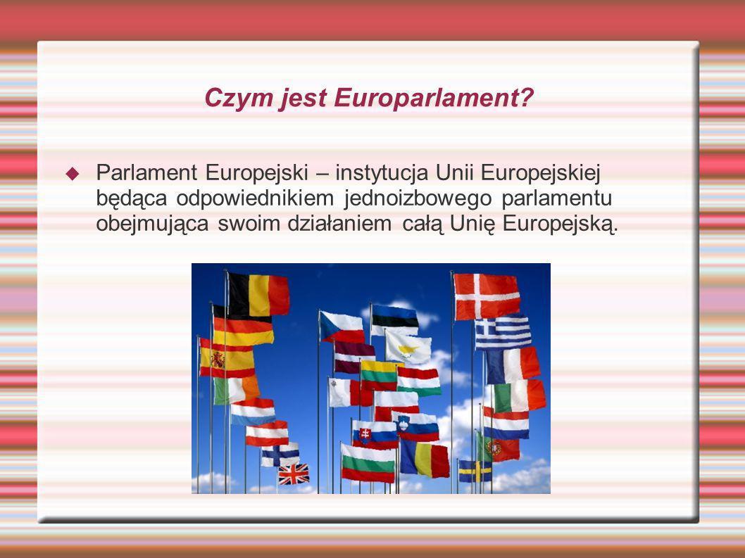 Czym jest Europarlament