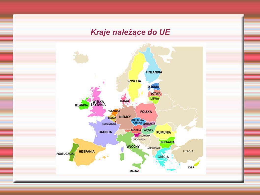 Kraje należące do UE