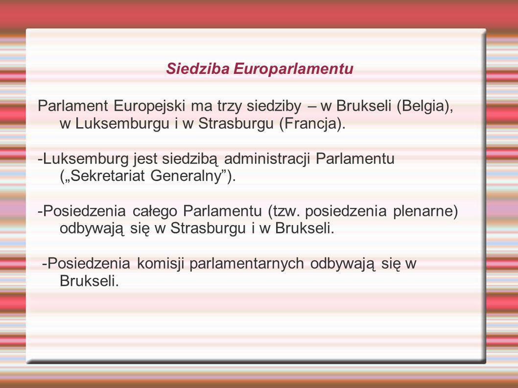 Siedziba Europarlamentu