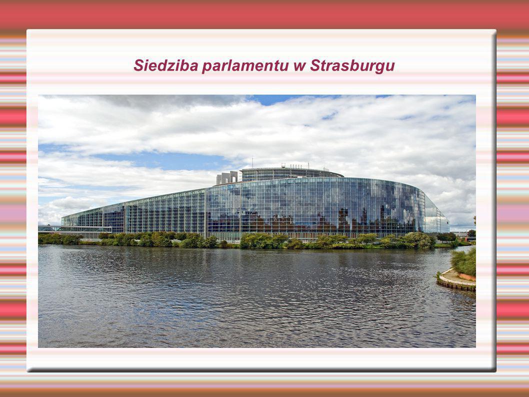 Siedziba parlamentu w Strasburgu