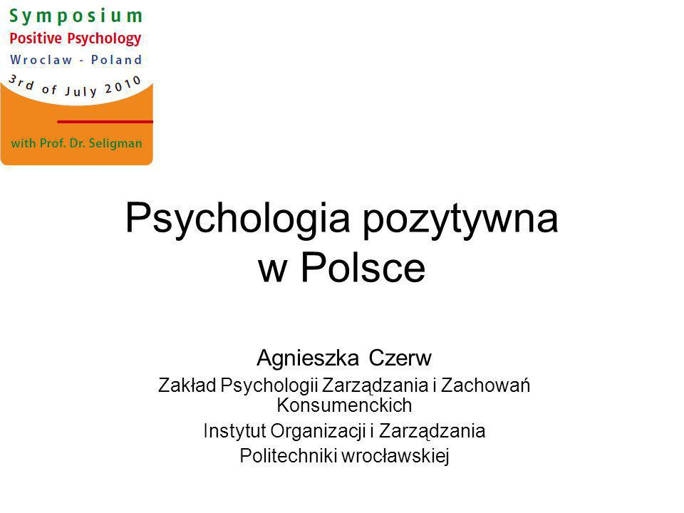 Psychologia pozytywna w Polsce