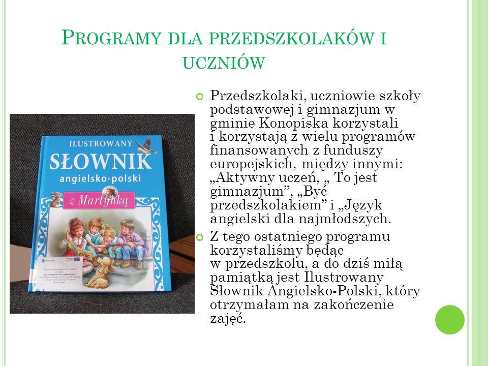 Programy dla przedszkolaków i uczniów