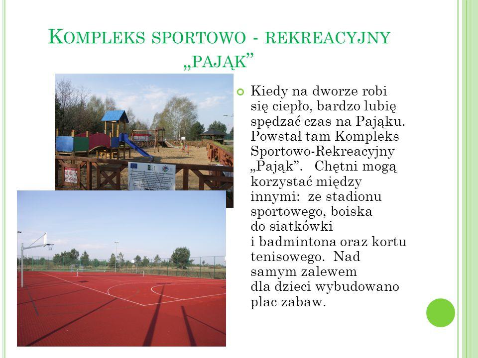 """Kompleks sportowo - rekreacyjny """"pająk"""