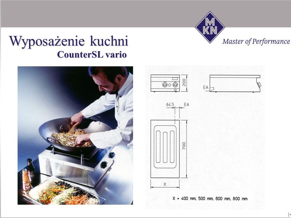 Wyposażenie kuchni CounterSL vario