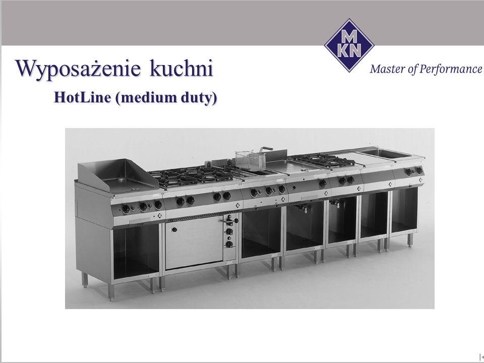 Wyposażenie kuchni HotLine (medium duty)