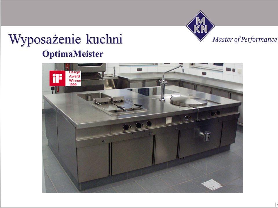 Wyposażenie kuchni OptimaMeister