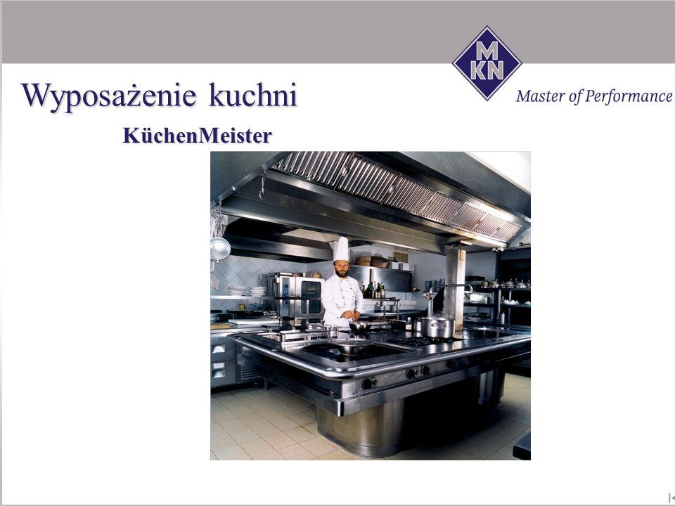 Wyposażenie kuchni KüchenMeister