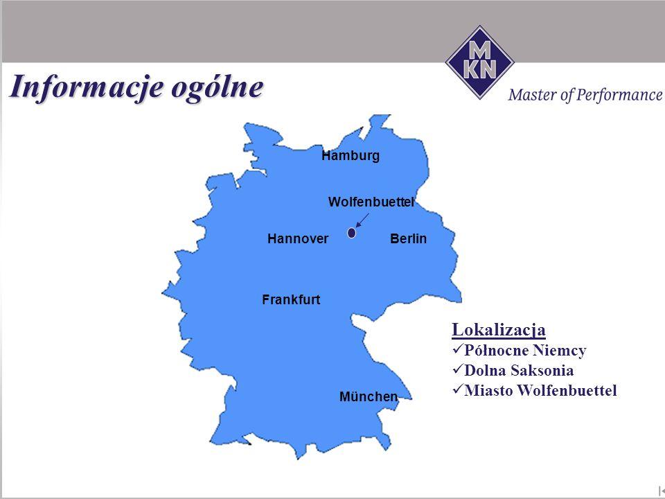 Informacje ogólne Lokalizacja Północne Niemcy Dolna Saksonia