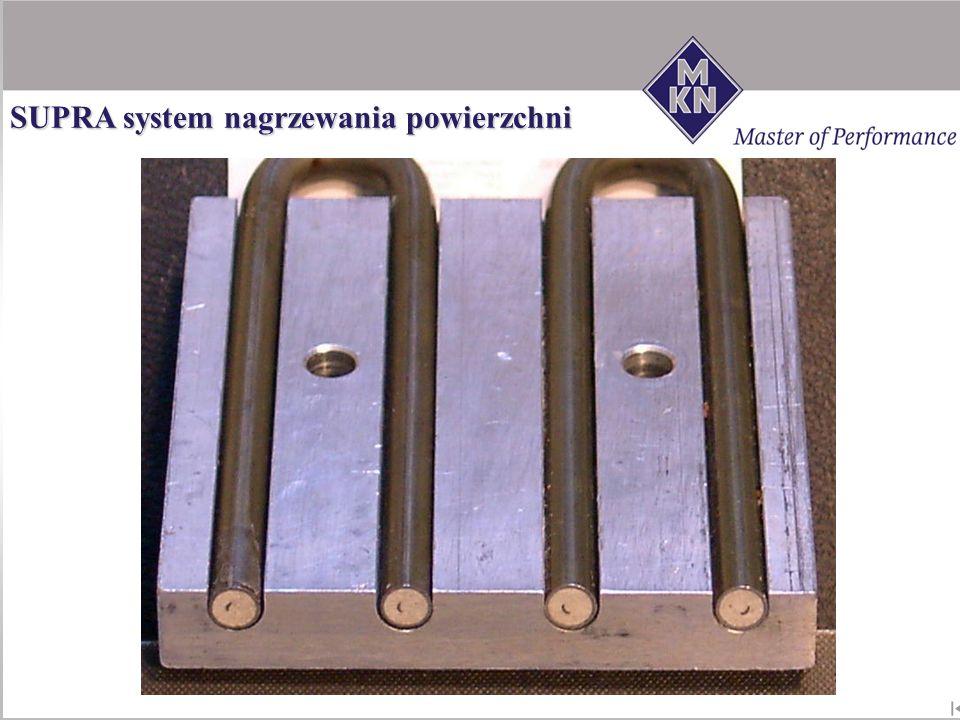 SUPRA system nagrzewania powierzchni