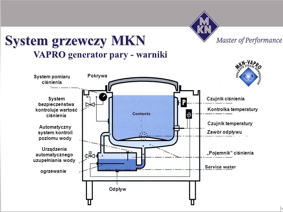 System grzewczy MKN VAPRO generator pary - warniki