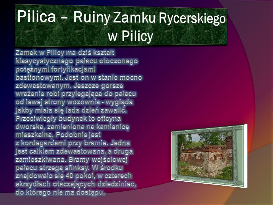 Pilica – Ruiny Zamku Rycerskiego w Pilicy