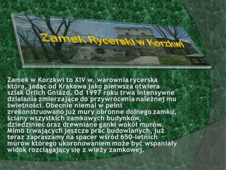 Zamek Rycerski w Korzkwi