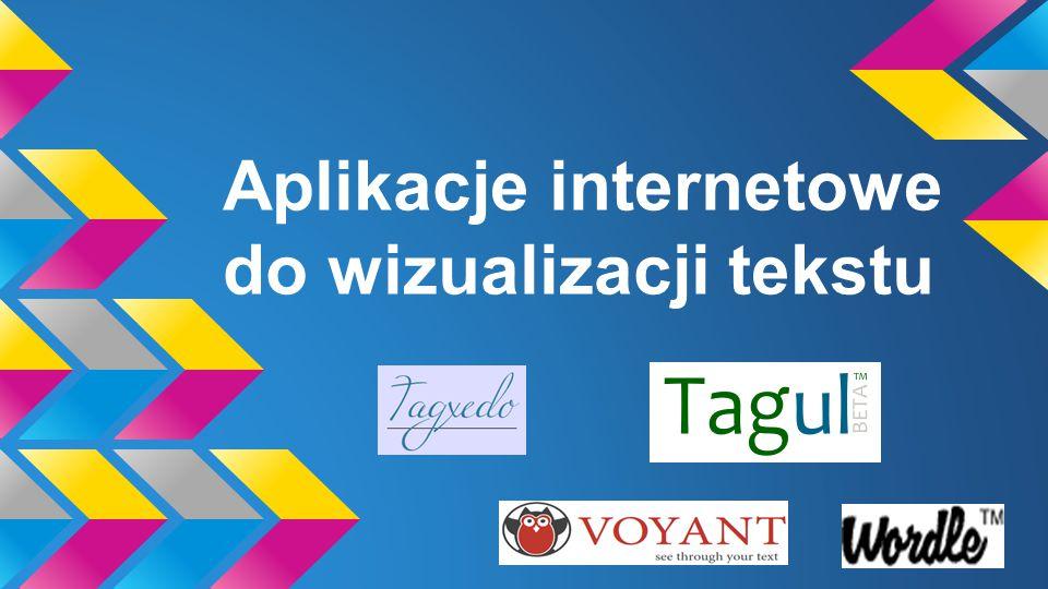 Aplikacje internetowe do wizualizacji tekstu