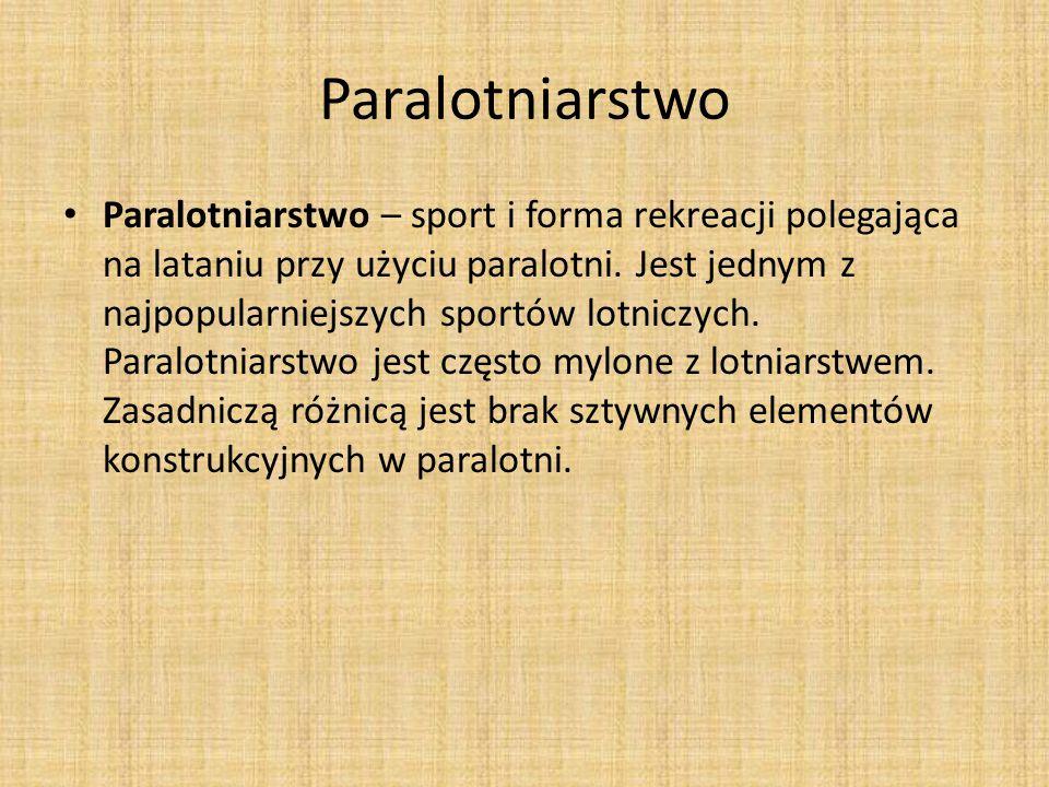 Paralotniarstwo