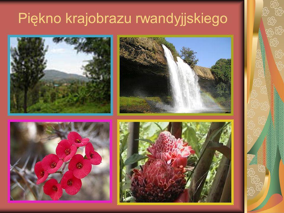 Piękno krajobrazu rwandyjjskiego