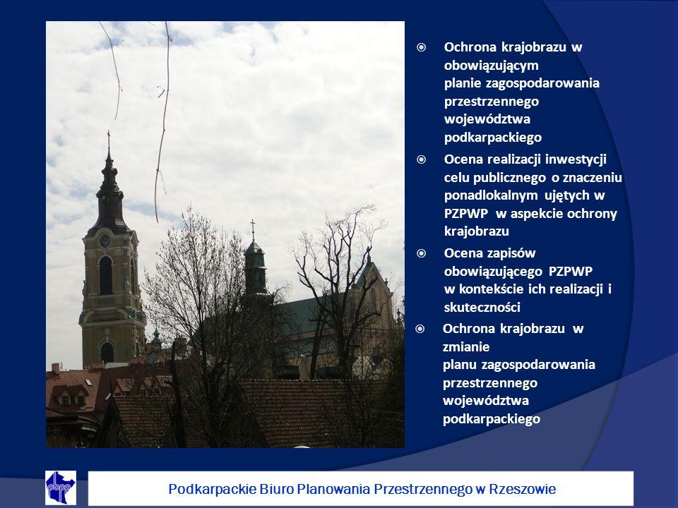 Ochrona krajobrazu w obowiązującym planie zagospodarowania przestrzennego województwa podkarpackiego