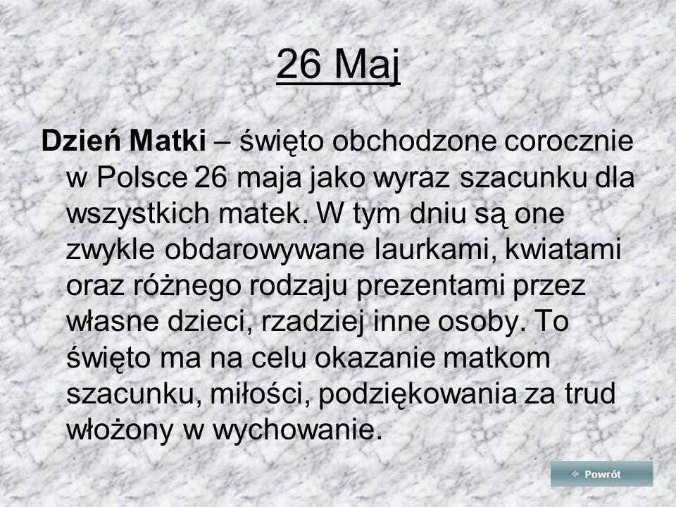 26 Maj
